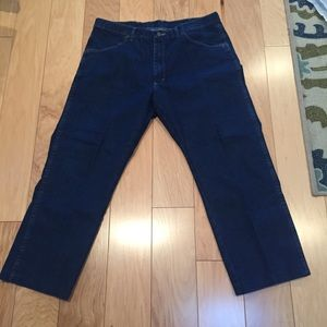 Other - Mens Wrangler Jeans 36X29 hemmed to 26